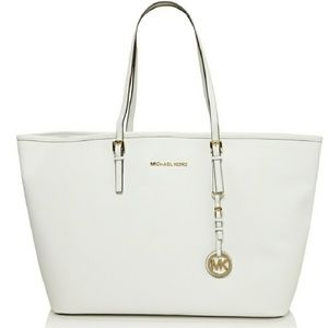 Michael Kors Large White Tote